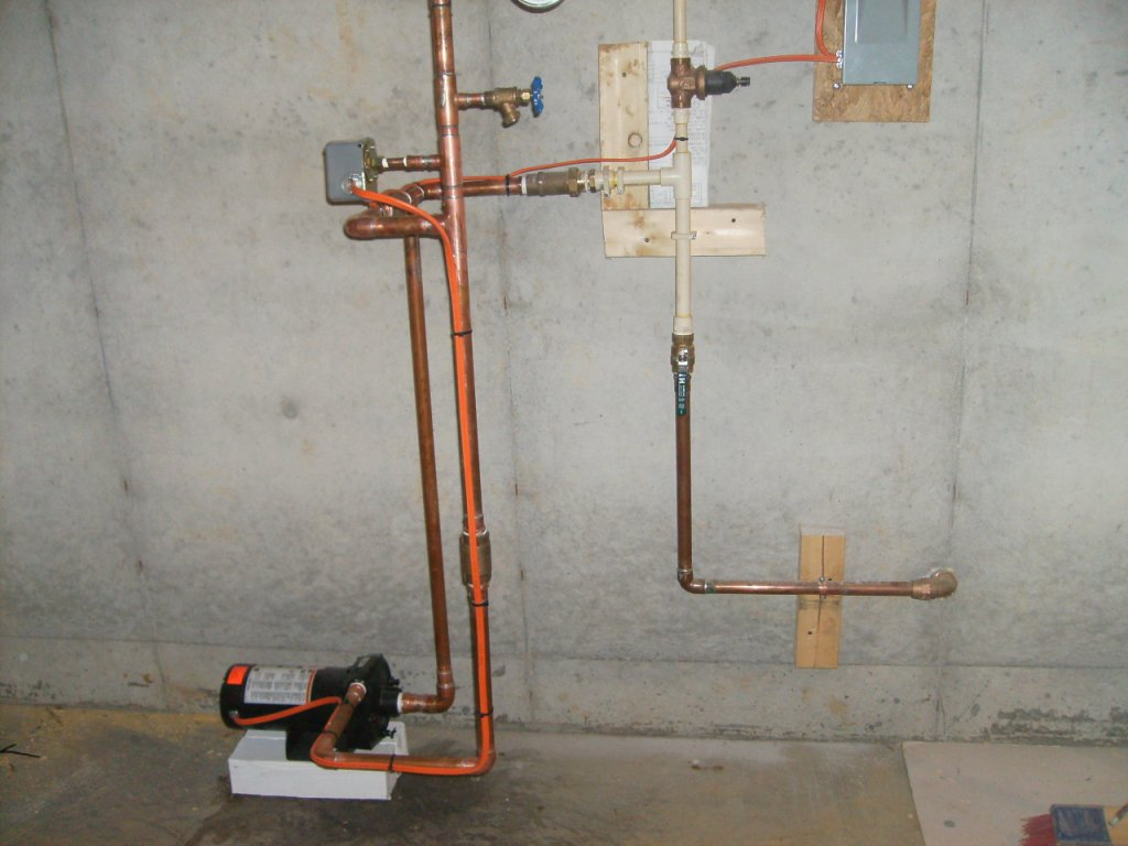 Plastic vs copper piping options when it comes to for Plastic plumbing vs copper