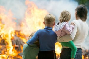 Have a Plan to Escape when There is a Residential Fire